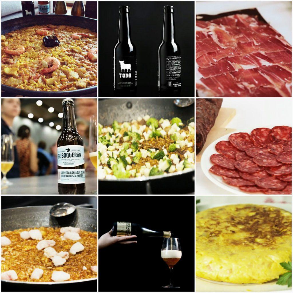 Paellas a domicilio en Lima y cervezas y tapas a domicilio