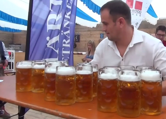 transportando cerveza artesanal